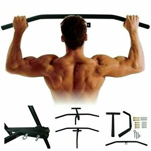 Chin-Pull-Up-Bar-Wall-Heavy-Duty-Punch-Bag-Bracket-Gym-Exercise-Workout