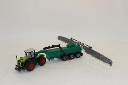 Siku 1827 Claas Xerion mit Fasswagen 1:87 H0 NEU in OVP