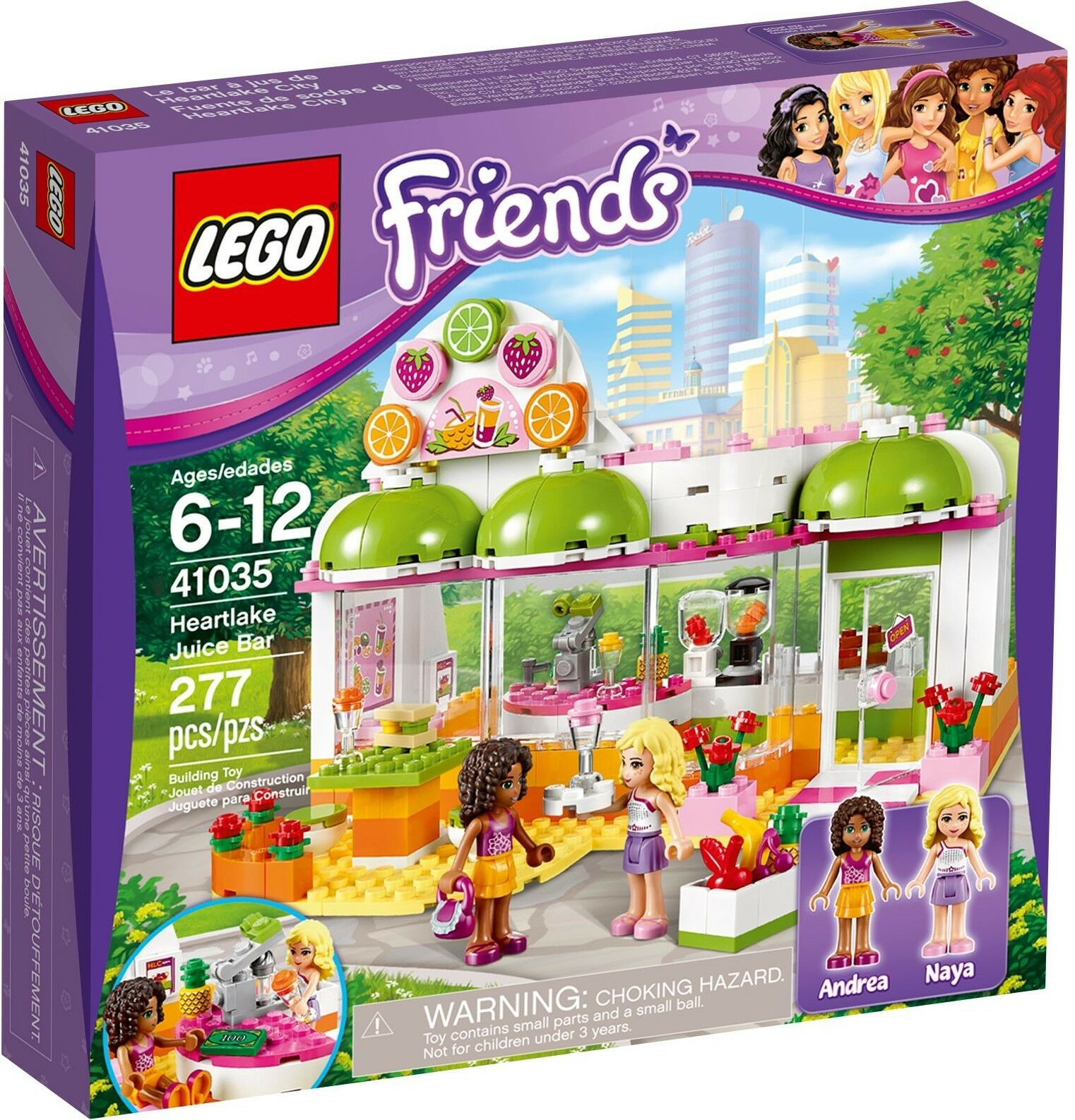LEGO® Friends - Saft - & Smoothiebar 41035 Heartlake Juice Bar NEU & OVP