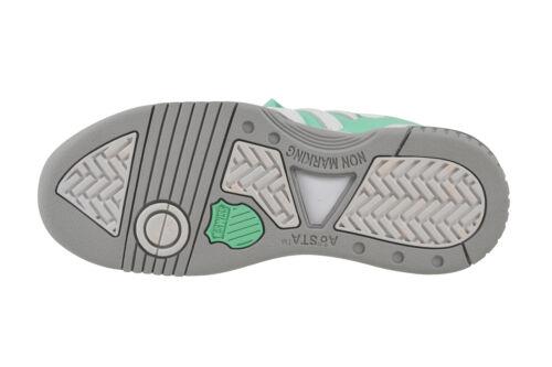 K-Swiss Gstaad cabbage gull gray white Sneaker Schuhe grün 91734 351 M