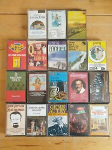 audio music cassette tapes bundle joblot x 18 as pictured mct30
