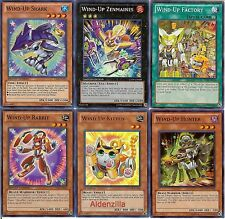 Yugioh Wind-Up Deck - 40 Cards + 13 XYZ -- Zenmaines Factory Kitten Shark Rabbit