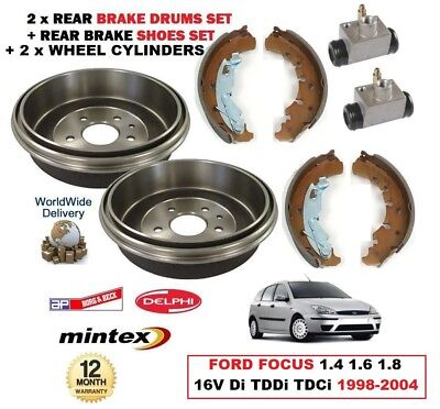 FORD TOURNEO CONNECT REAR HAND DELPHI BRAKE SHOES 1.8 /& 1.8 TDCI TDDI