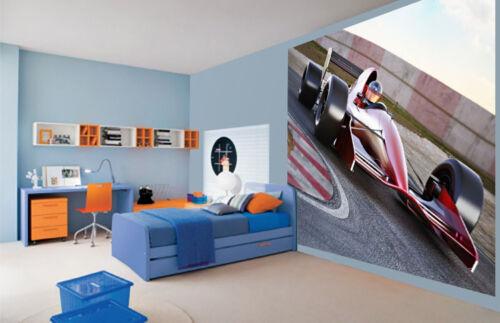 3053522 F1 formule 1 voiture de course sur la piste papier peint mural