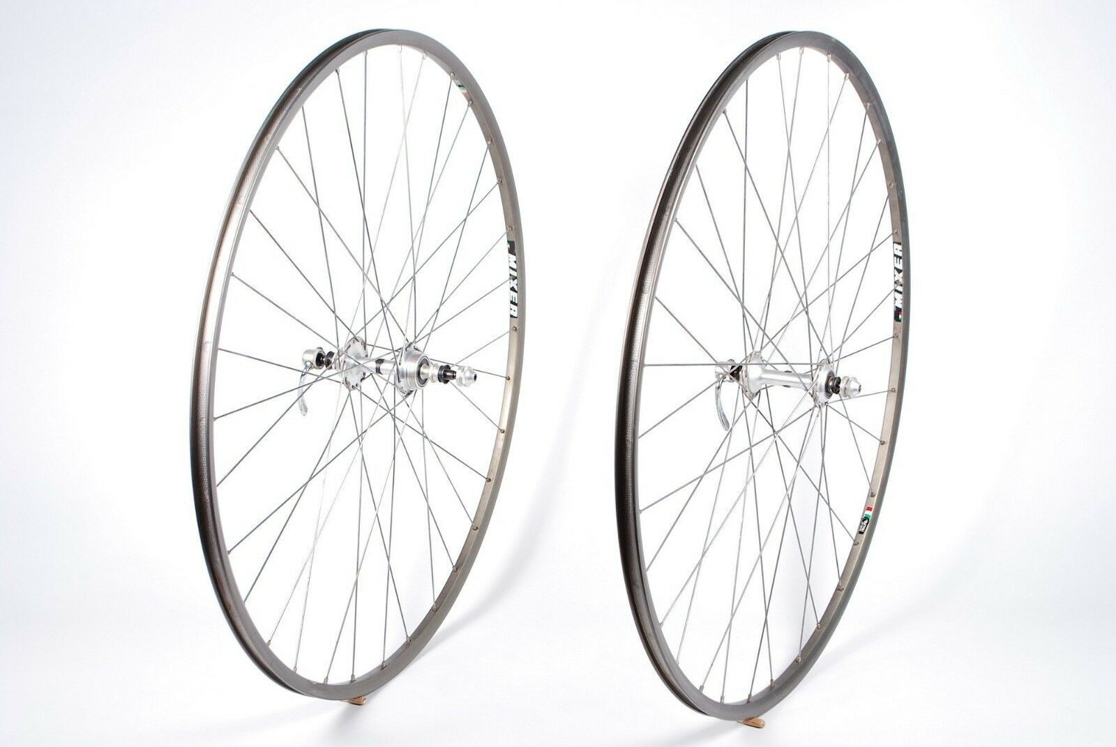 NISI Mixer Bicycle Clincher Wheels 32 H & Vintage Ofmega Super Competizione Hubs