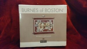 Beautiful Wooden Burned Of Boston 6X4 Photo Holder