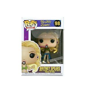 Funko Pop Rocks Britney Spears I/'m a Slave 4 U #98  IN STOCK w// Protector