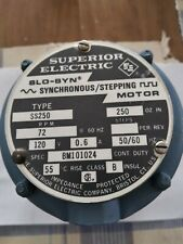 Superior Electric Synchronous Stepping Motor Bm101024 Free Shipment