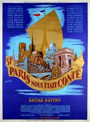 Si Paris nous etait conte Sacha Guitry movie poster