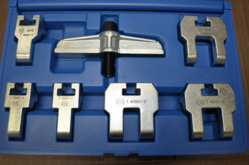 VW//Audi Sprockets Puller Set Incl 18mm 23mm and 25mm Arms Assenmacher VW 4006
