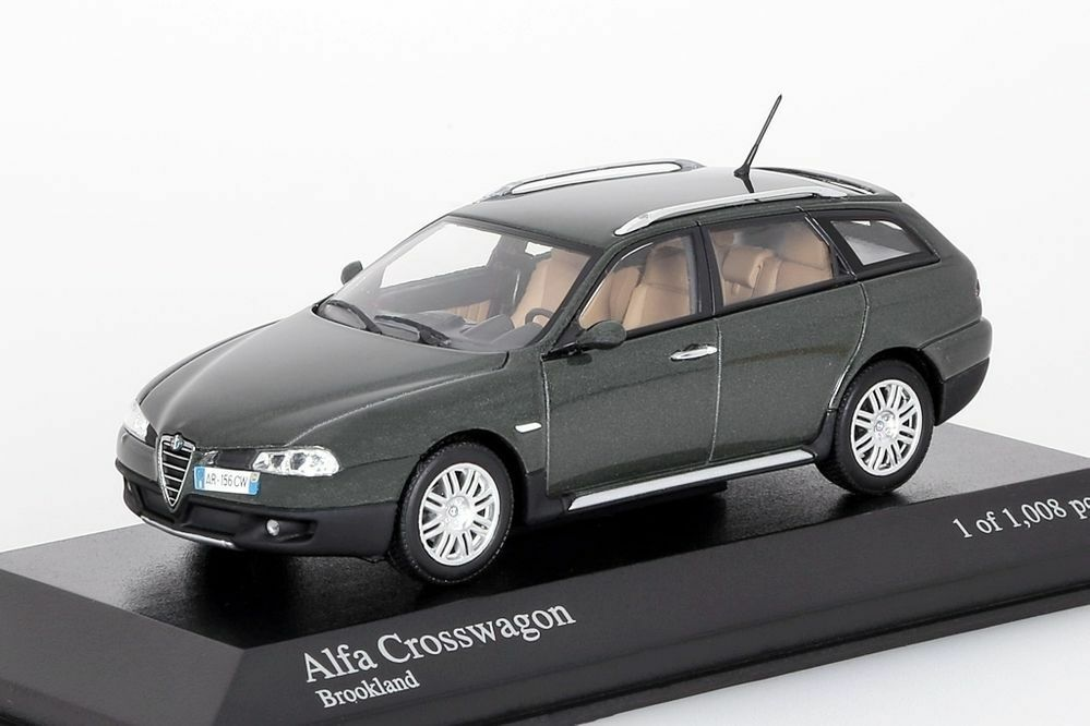 ALFA ROMEO 156 CROSSWAGON 2004 Brookland Minichamps 1 43 Nouveau Neuf dans sa boîte