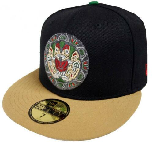 New Era Vancouver Joggers HWC Black Wheat 59 Fifty Fitted Cap Limited Edition
