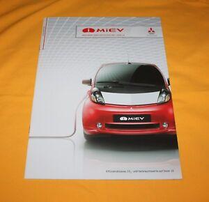 Mitsubishi-MIEV-Electric-2012-Prospekt-Brochure-Depliant-Catalog-Folder