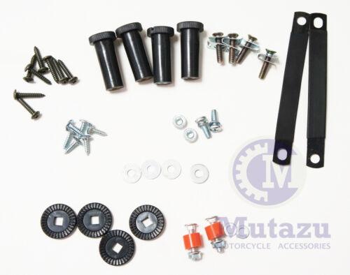 Lower vented Fairing Mounting Hardware kit for Harley Davidson Touring models