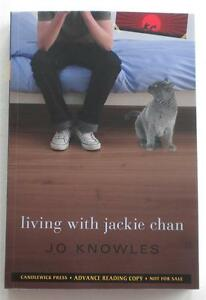 NEW Jo Knowles LIVING WITH JACKIE CHAN Advance Reader Copy ARC