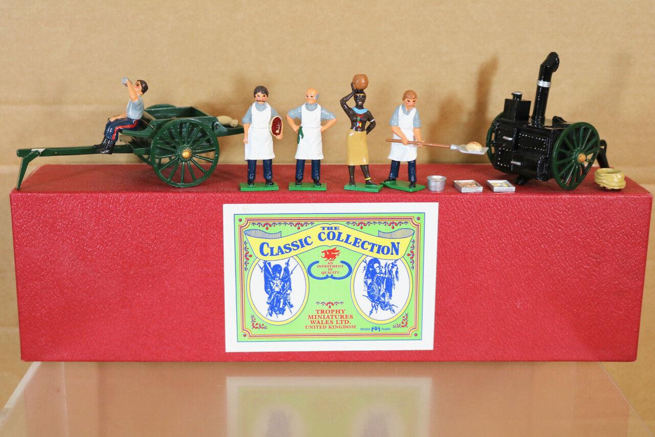 Trophäe Miniaturen EQ31A Zulu Krieg Britisch 24th Fuß der Feld Küche Set Pjm