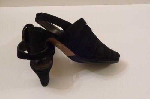 Français Verona Italie Noir 38 T Bon Chaussures Très Di Etat 37 F50FSw