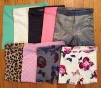 Girl's Old Navy Monkey Bar/bike Shorts - Sizes 12-18 Months Thru 5t