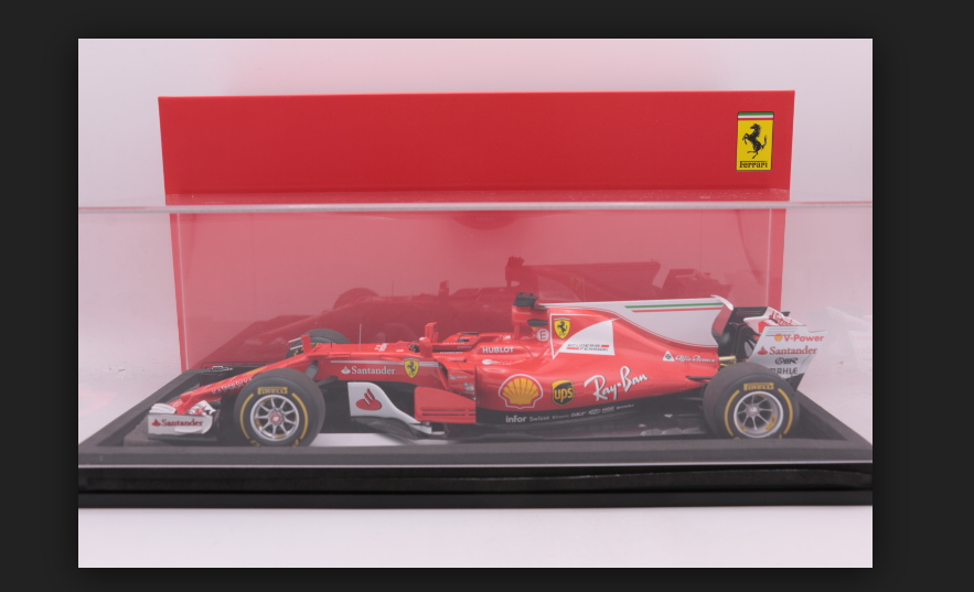 FERRARI SF70-H Press Version 2017 1 18 Looksmart LS18F106