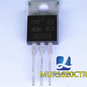 10pcs-MUR1620CTR-MUR1620-ULTRAFAST-RECTIFIER-16-AMPERES-200-VOLTS-Brand-New
