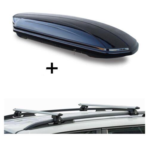 Barres de toit crv120 pour Volvo v50 5 porte 04-12 Coffre de toit MAA 320 L