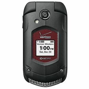 Details about Kyocera Duraxv Plus E4520PTT Black Flip Phone Verizon