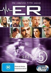 NEW-E-R-ER-Season-Series-5-FIFTH-No-GST-DVD-2005-6-Disc-set-FREE-POSTAGE