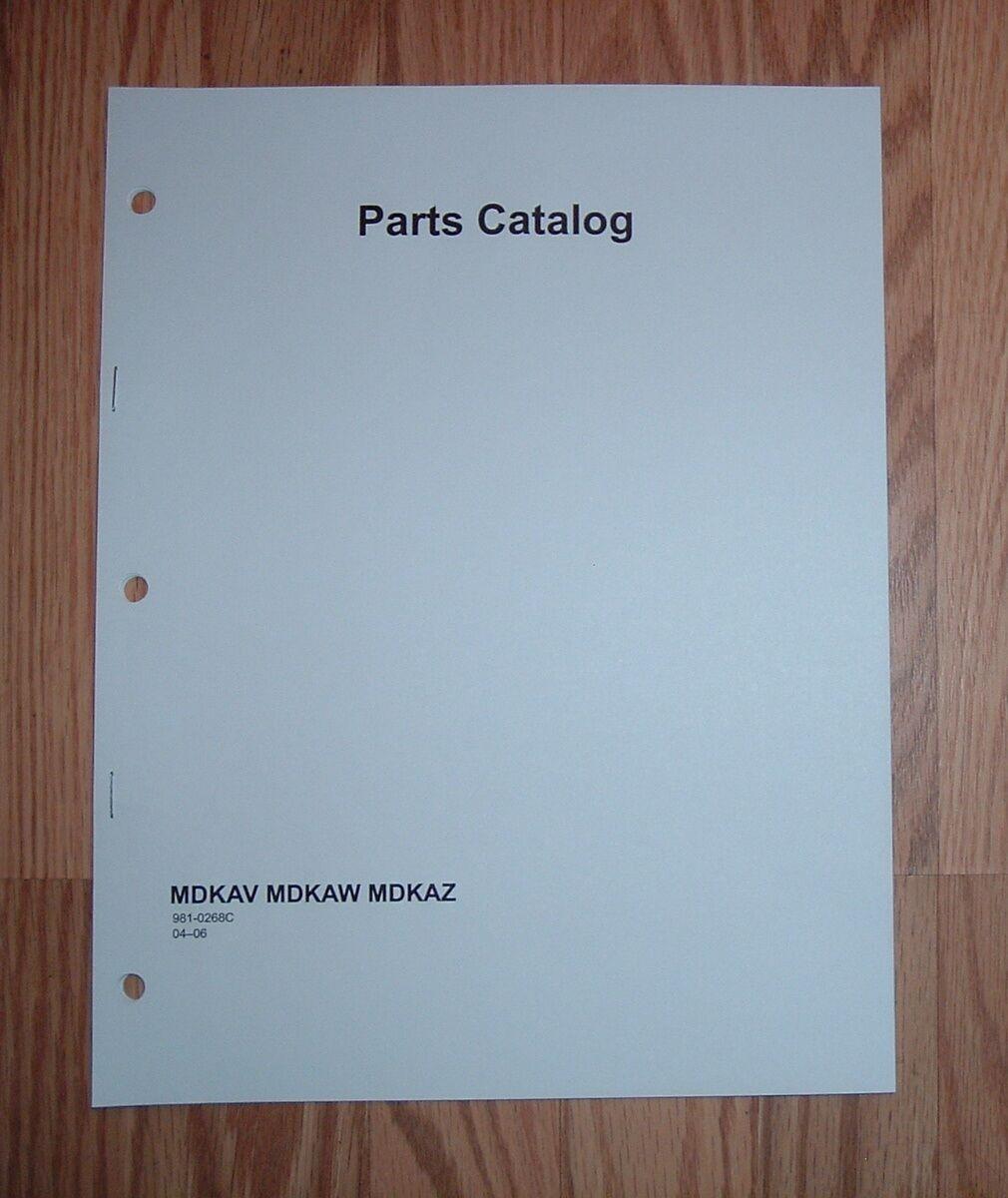 onan mdkav specs marine genset illustrated parts catalog manual 981 rh ebay com Onan Engines Manuals onan mdkaw service manual