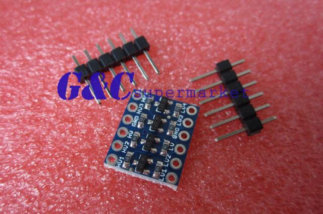 5Pcs 4 Channel IIC I2C Logic Level Converter Bi-Directional Module 5V ~ 3.3V M32