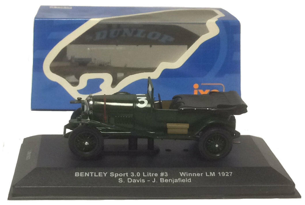 IXO LM1927 Bentley Sport 3.0 Litre Le Mans Winner 1927 - 1 43 Scale