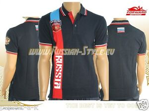"FORWARD ""RUSSIA"" Russland POLO-Shirt Art:M13230G-NR111"