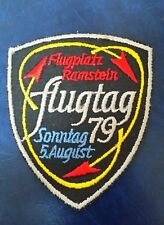FLUGPLATZ RAMSTEIN FLUGTAG 79 GERMANY AIR SHOW PATCH