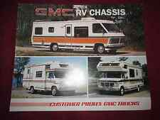 1974-1975-1976-1977-1978? GMC Motorhomes Color Brochure-ORIGINAL! -js-