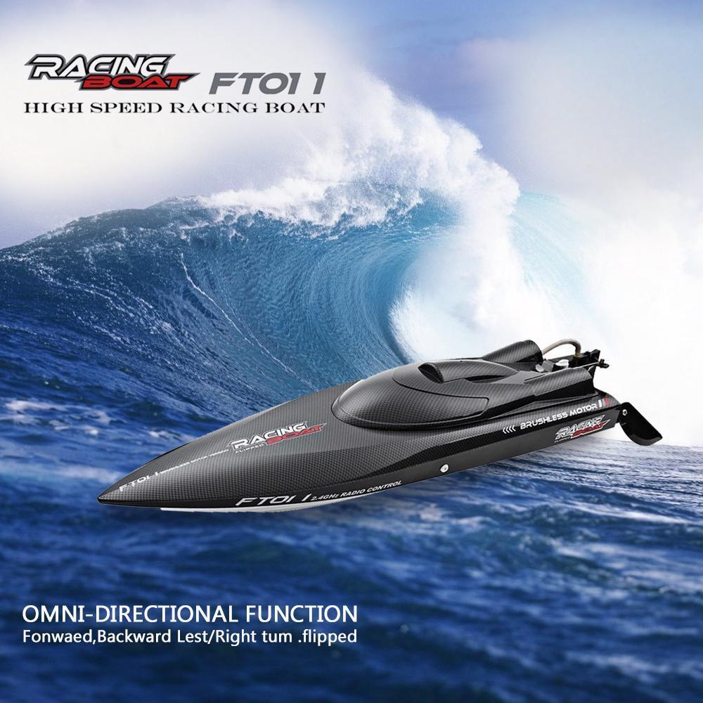 2.4g Racing Rc Boat High Speed Motor Water Cooling System 4 Channels Speedboat