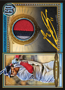 2020 Topps BUNT Rafael Devers Gypsy Queen S2 GOLD Sig Relic ICONIC! DIGITAL CARD
