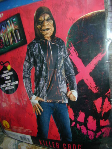 Details about  /HALLOWEEN COSTUME:Suicide Squad Killer Croc Crocodile Alligator XL 40-42 Cosplay