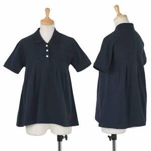 unaitedbamboo Tuck design Kanoko polo shirt Size 4(K-30441)