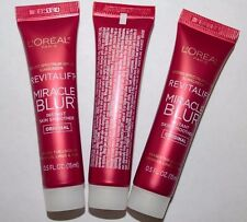 LOT OF 3 LOREAL Revitalift Miracle Blur Instant Eye Smoother Uncarded 15 ml