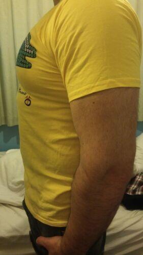 Men/'s Gym Graphique À Manches Courtes T-shirt Ottoman logo femme à encolure ras-du-cou en coton