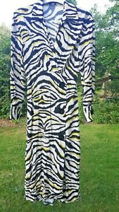 Gorgeous Zara Zebra Print Midi/Petite Length Maxi Dress Size XS/6.