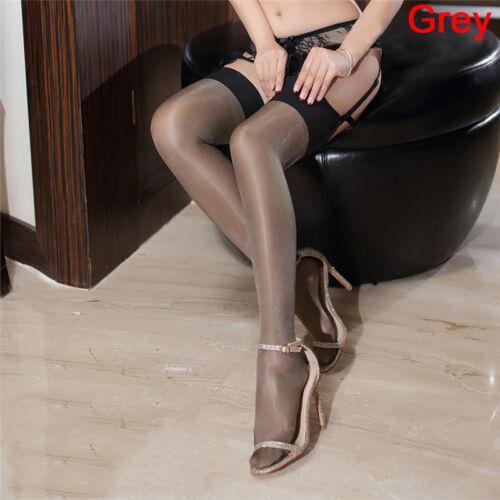 Silk Stockings Stockings Thigh High Stocking Shine Multi-color Silk StockingHFFS