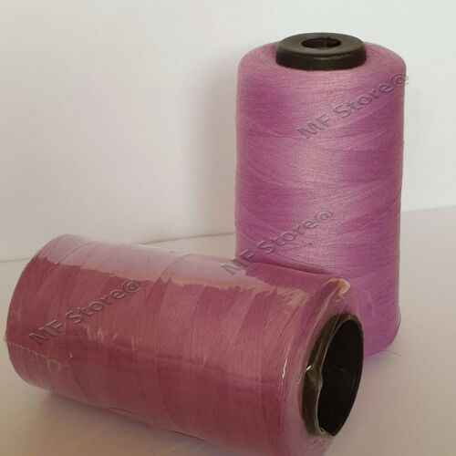 5000 Yards Overlocking 120s Thread Polyester Industrial Sewing Machine 27 Colour