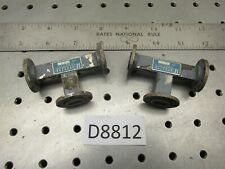 Lot Of 2 H Plane Tee Waveguide Wr42 K Band D8812