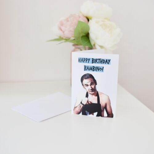 TV Birthday Card Friday Night Novelty Card Bambino Funny Card Happy Birthday