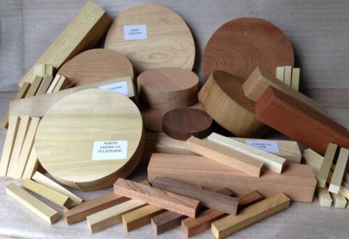 Casella di selezione per tornitori-Specie Miste Ciotola /& quadrato legno tornitura BIANCHI REGALO