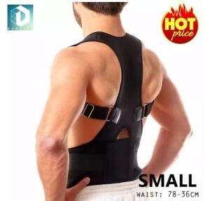 DUNSPEN-Small-Adjustable-Support-Brace-Posture-For-Lower-and-Upper-Back-Pain