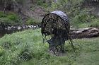 Camo Hide Fishing Hunting Foldup Portable WaterProof Sunshade Chair