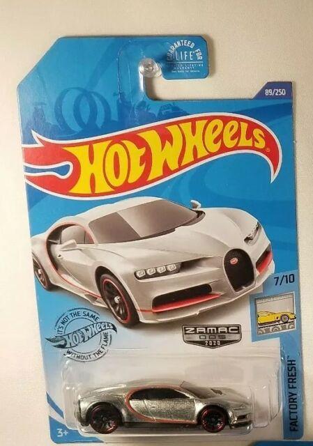 Hot Wheels16 Bugatti Chiron exótico Envy 4/5 coche