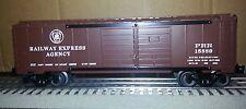 Lionel 6-30180B PRR-REA Double Door Box Car  Set Break-up 3 Rail Traditional 0