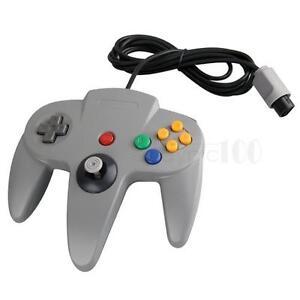Controleur-Manette-Controller-Joypad-Console-Jeux-Video-pour-Nintendo-64-N64